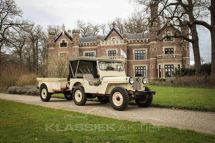 Picture of 1946 Unique Willys with trailer in very good condition For Sale