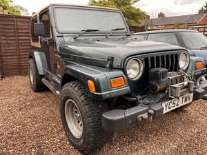 2002 Classic Wrangler Jeep For Sale (picture 2 of 12)