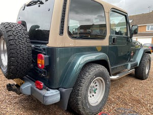 2002 Classic Wrangler Jeep For Sale (picture 3 of 12)