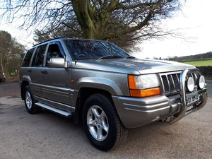 1997 Grand Cherokee Orvis 4.0 Auto Top Spec For Sale (picture 1 of 12)