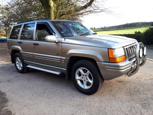 1997 Grand Cherokee Orvis 4.0 Auto Top Spec For Sale (picture 2 of 12)
