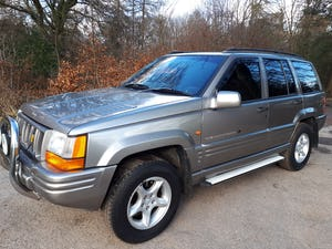 1997 Grand Cherokee Orvis 4.0 Auto Top Spec For Sale (picture 4 of 12)