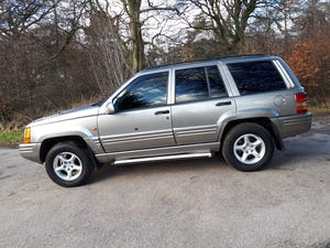 1997 Grand Cherokee Orvis 4.0 Auto Top Spec For Sale (picture 5 of 12)