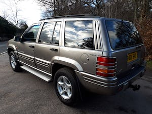 1997 Grand Cherokee Orvis 4.0 Auto Top Spec For Sale (picture 6 of 12)