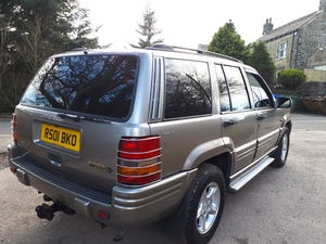 1997 Grand Cherokee Orvis 4.0 Auto Top Spec For Sale (picture 8 of 12)