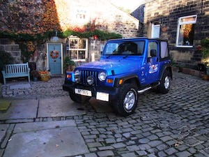 2003 Jeep Wrangler Tombraider 2 / 4 LITRE For Sale (picture 1 of 11)
