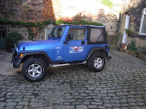 2003 Jeep Wrangler Tombraider 2 / 4 LITRE For Sale (picture 2 of 11)