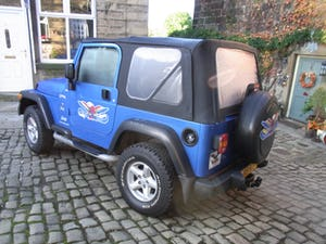 2003 Jeep Wrangler Tombraider 2 / 4 LITRE For Sale (picture 3 of 11)