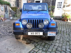 2003 Jeep Wrangler Tombraider 2 / 4 LITRE For Sale (picture 5 of 11)