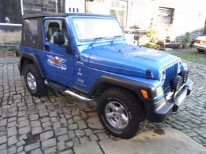 2003 Jeep Wrangler Tombraider 2 / 4 LITRE For Sale (picture 6 of 11)