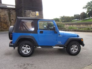 2003 Jeep Wrangler Tombraider 2 / 4 LITRE For Sale (picture 11 of 11)