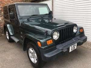 2004 54 Jeep Wrangler TJ 4.0 Sahara Hardtop Automatic, 86k For Sale (picture 1 of 12)