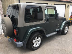 2004 54 Jeep Wrangler TJ 4.0 Sahara Hardtop Automatic, 86k For Sale (picture 3 of 12)