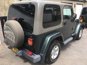 2004 54 Jeep Wrangler TJ 4.0 Sahara Hardtop Automatic, 86k For Sale (picture 4 of 12)
