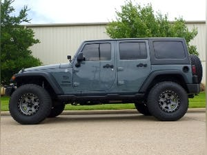2014 Jeep Wrangler Unlimited Sport Lifted + mods Grey $34.9k For Sale (picture 12 of 12)