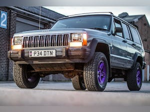 1996 jeep xj jeep cherokee 2.5 petrol low 45k miles For Sale (picture 1 of 12)