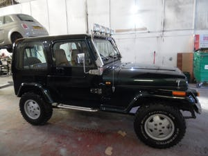 1993 Jeep Wrangler YJ 4L Manual For Sale (picture 9 of 12)