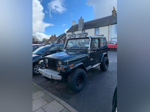 1993 Jeep Wrangler YJ 4L Manual For Sale (picture 11 of 12)
