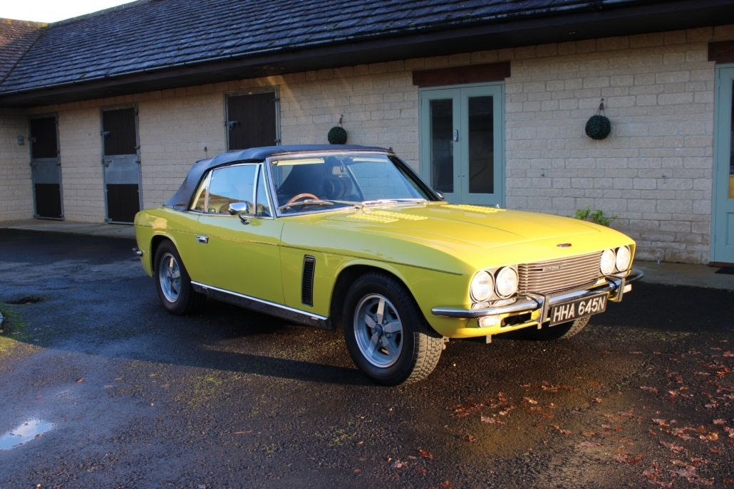 1975 JENSEN INTERCEPTOR CONVERTIBLE For Sale (picture 1 of 19)