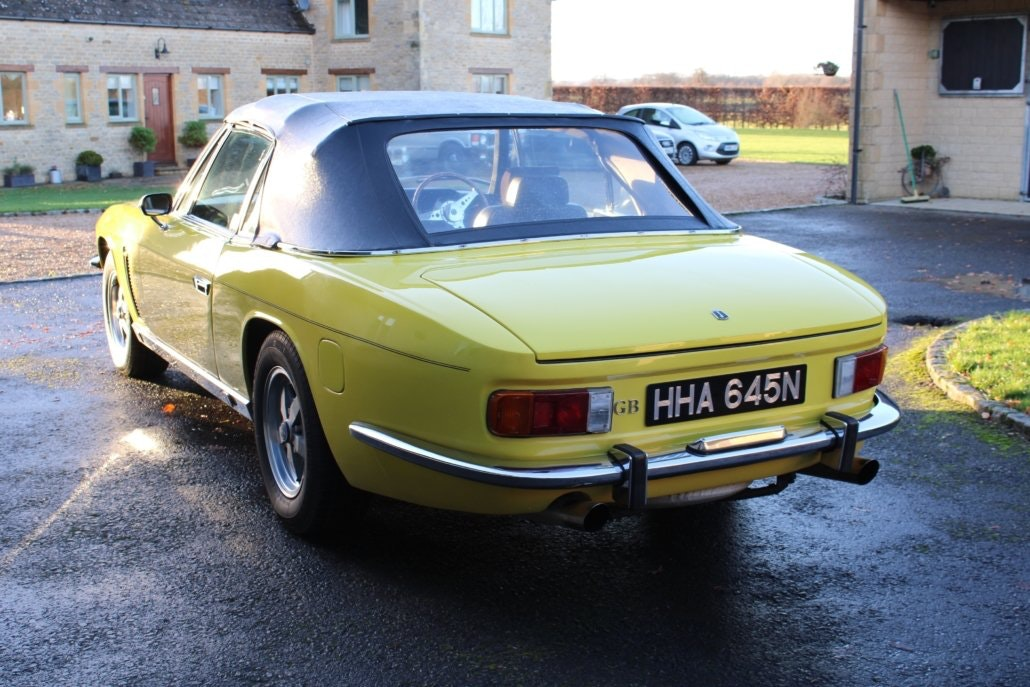 1975 JENSEN INTERCEPTOR CONVERTIBLE For Sale (picture 2 of 19)