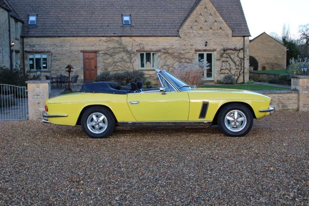1975 JENSEN INTERCEPTOR CONVERTIBLE For Sale (picture 4 of 19)