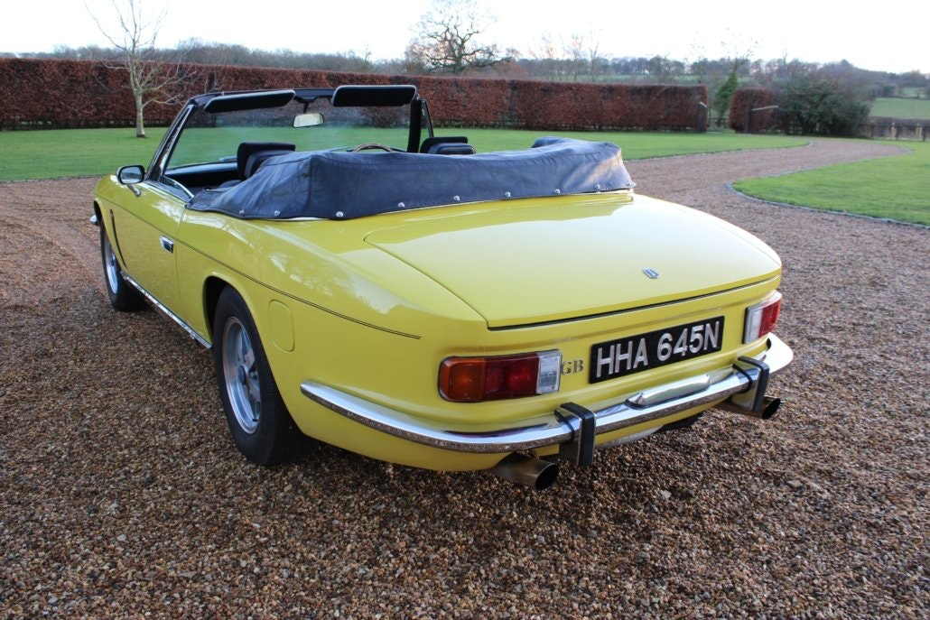 1975 JENSEN INTERCEPTOR CONVERTIBLE For Sale (picture 7 of 19)