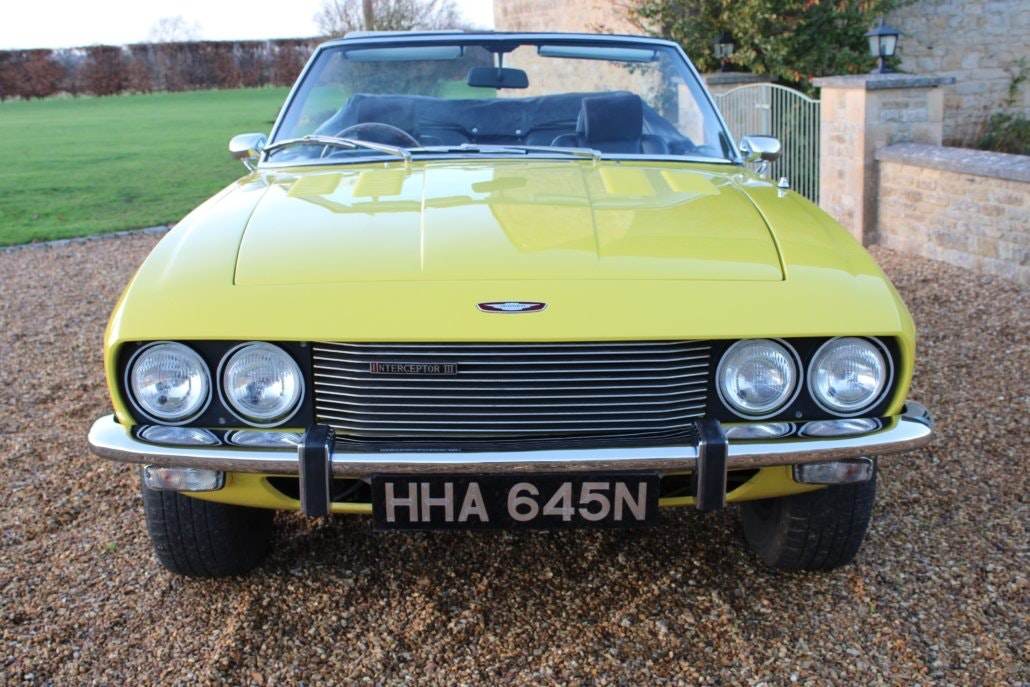 1975 JENSEN INTERCEPTOR CONVERTIBLE For Sale (picture 8 of 19)