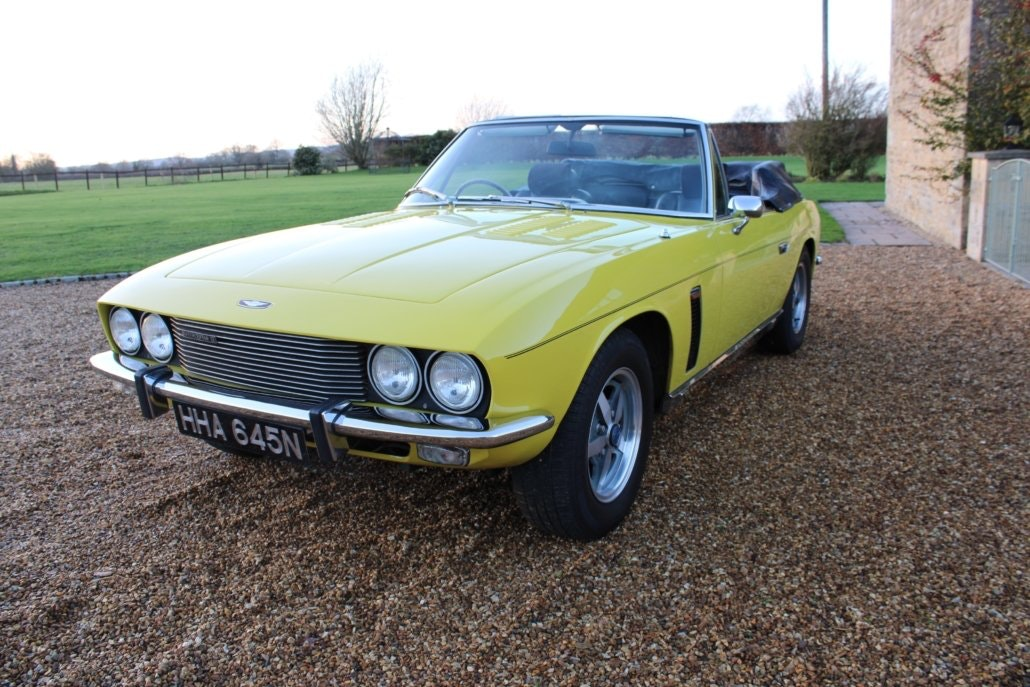 1975 JENSEN INTERCEPTOR CONVERTIBLE For Sale (picture 9 of 19)