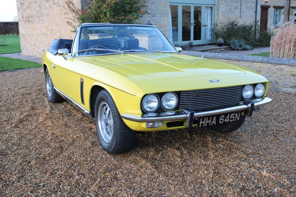 1975 JENSEN INTERCEPTOR CONVERTIBLE For Sale (picture 10 of 19)