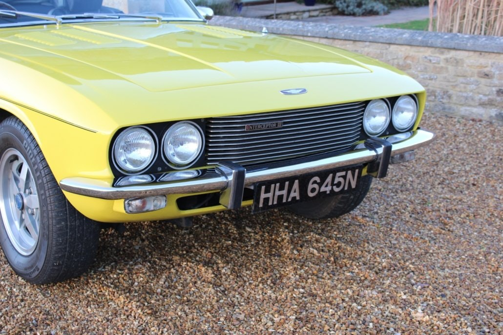 1975 JENSEN INTERCEPTOR CONVERTIBLE For Sale (picture 11 of 19)
