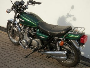 1976 Kawasaki KZ900-A4 original only 38.876 miles For Sale (picture 2 of 6)