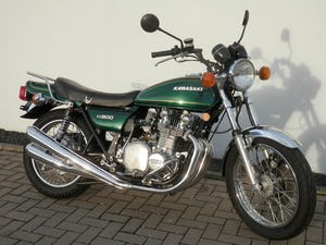 1976 Kawasaki KZ900-A4 original only 38.876 miles For Sale (picture 3 of 6)