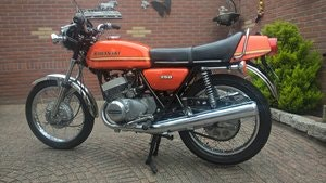 Picture of Kawasaki S1 250 two stroke 1975 SOLD