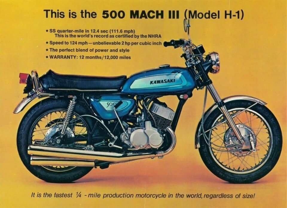 1971 KAWASAKI H1A For Sale (picture 4 of 4)
