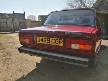 Picture of 1991 Lada riva 1300 uk car right hand drive. For Sale