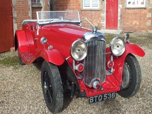 1935 A  3.5 litre Lagonda with a superb history For Sale (picture 1 of 6)