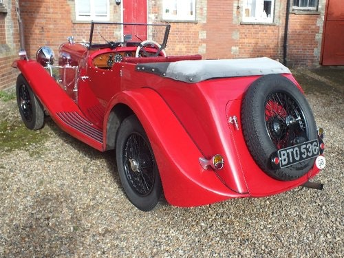 1935 A  3.5 litre Lagonda with a superb history For Sale (picture 3 of 6)