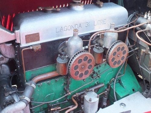 1935 A  3.5 litre Lagonda with a superb history For Sale (picture 6 of 6)