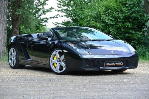 2007 LAMBORGHINI GALLARDO **V10 SPYDER** For Sale (picture 1 of 6)