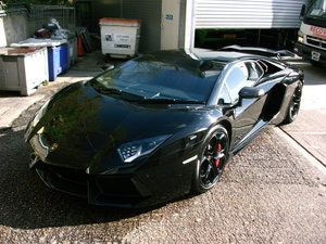 Picture of 2012 Lamborghini Aventador LP700-4 in Black. SOLD