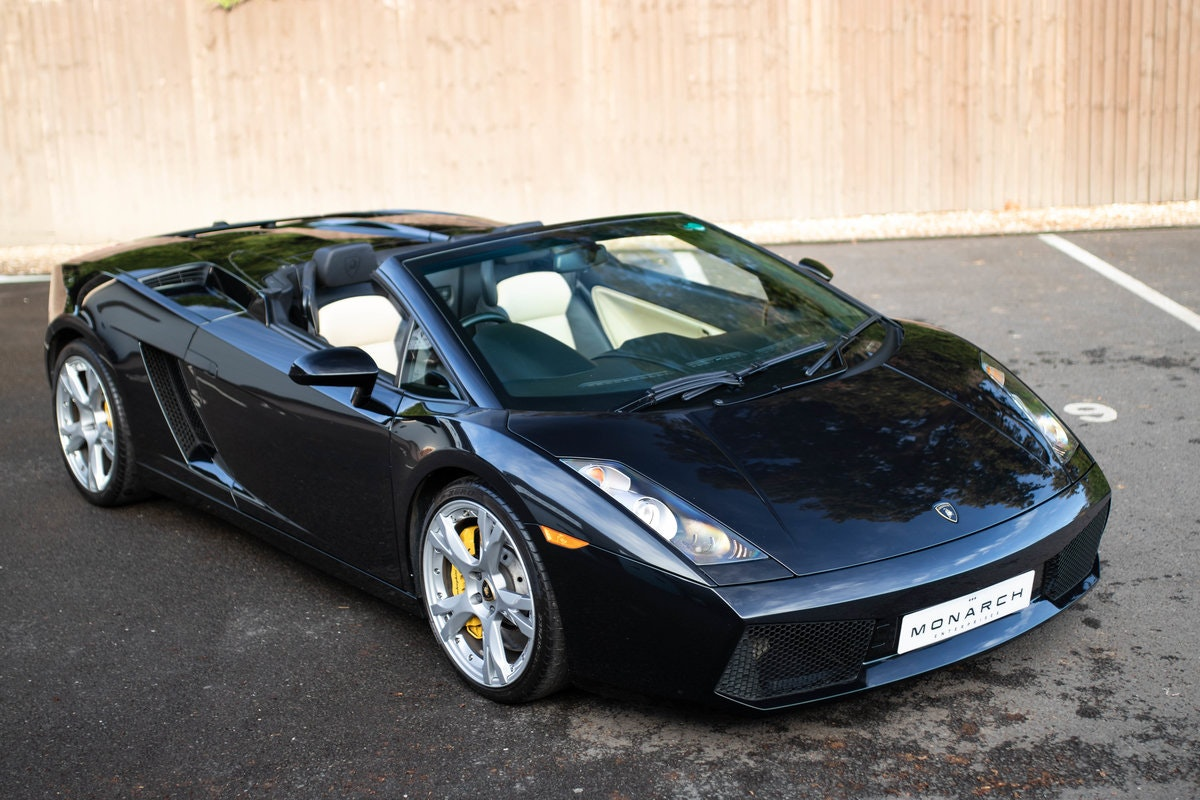 2008/08 Lamborghini Gallardo Spyder 5.0 For Sale (picture 1 of 6)