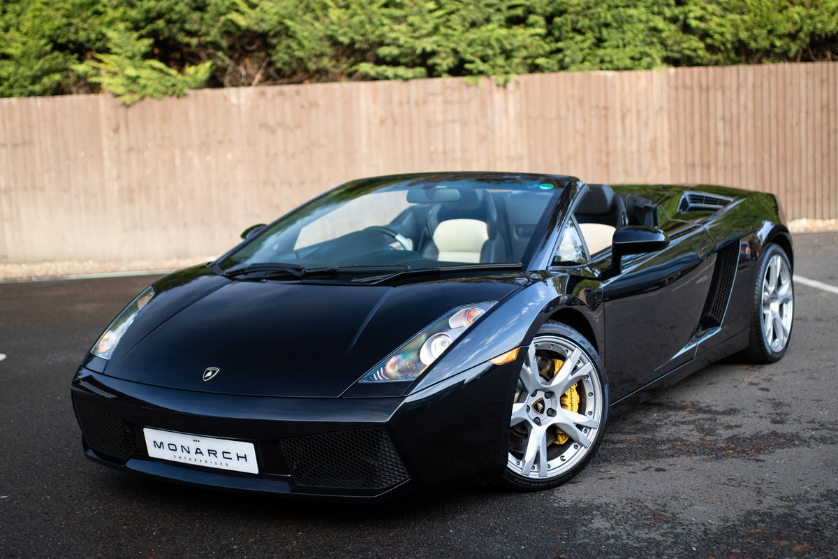 2008/08 Lamborghini Gallardo Spyder 5.0 For Sale (picture 2 of 6)
