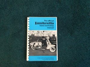 VERY RARE LAMBRETTE WORKSHOP MANUAL For Sale (picture 1 of 4)