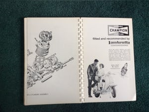 VERY RARE LAMBRETTE WORKSHOP MANUAL For Sale (picture 4 of 4)