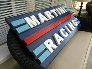 Martini Racing Sign For Sale (picture 2 of 2)