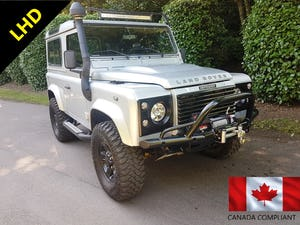 2006 LHD LAND ROVER DEFENDER 90 TD5 COUNTY For Sale (picture 1 of 12)
