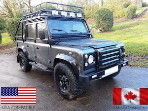 1986 LAND ROVER DEFENDER 300 TDI 110 DOUBLE CAB PICKUP For Sale (picture 1 of 12)
