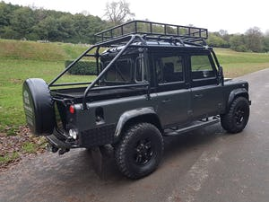 1986 LAND ROVER DEFENDER 300 TDI 110 DOUBLE CAB PICKUP For Sale (picture 4 of 12)