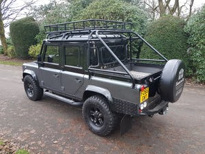 1986 LAND ROVER DEFENDER 300 TDI 110 DOUBLE CAB PICKUP For Sale (picture 11 of 12)