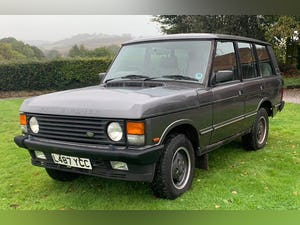1993 Range Rover 3.9 Vogue SE in Westminster Grey For Sale (picture 2 of 11)